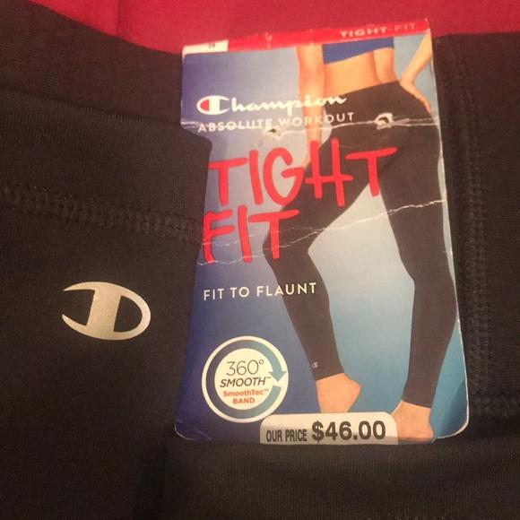 edc246ac91c8 NWT champion tight fit leggings